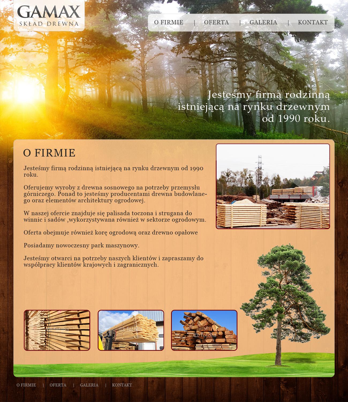 Gamax - skład drewna