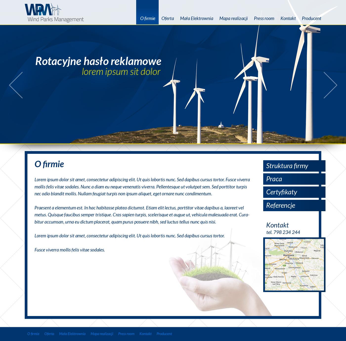 Wind Parks Managements